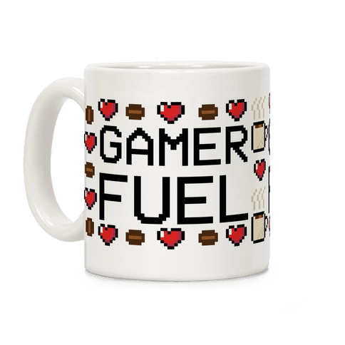 Gamer Fuel Coffee Mug