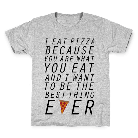 I Eat Pizza Kids T-Shirt