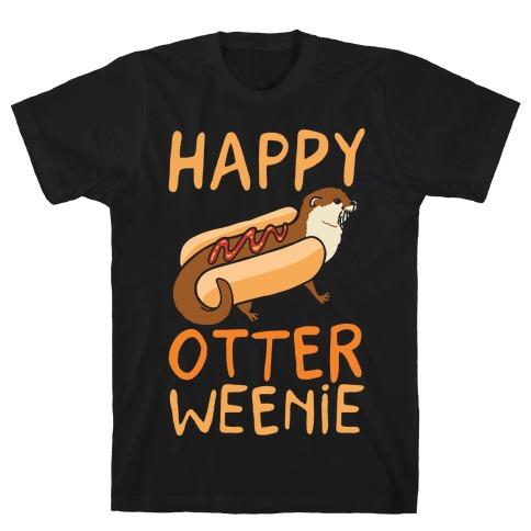 Happy Otterweenie T-Shirt