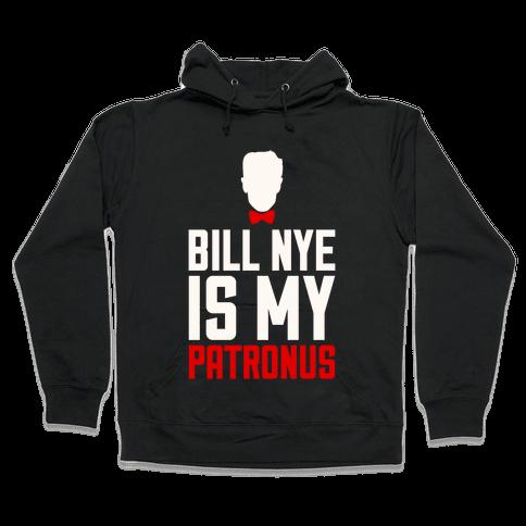 Bill Nye Is My Patronus Hooded Sweatshirt
