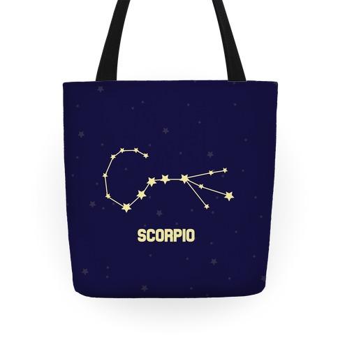Scorpio Horoscope Sign Tote