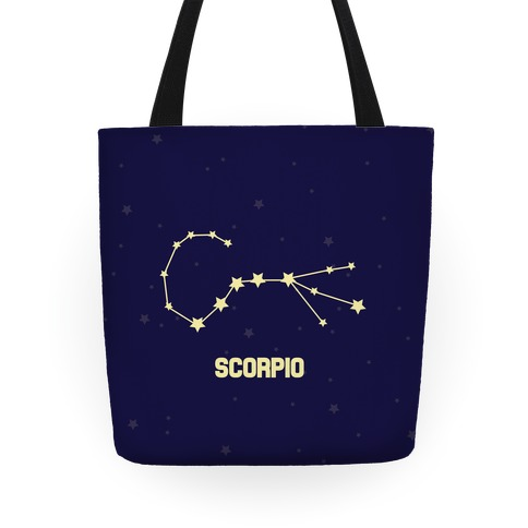 Scorpio Horoscope Sign Tote