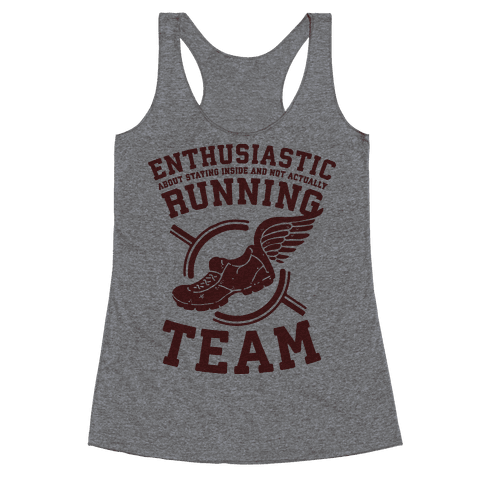 Enthusiastic Running Team