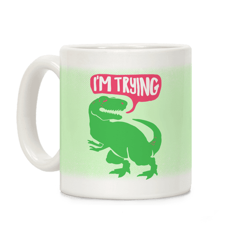 Hug Me Dinosaur (Part Two) Coffee Mug
