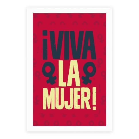 Viva la Mujer! Poster