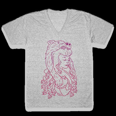 Goldilocks V-Neck Tee Shirt