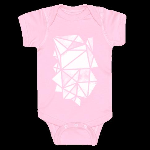 Geometric Collage Baby Onesy