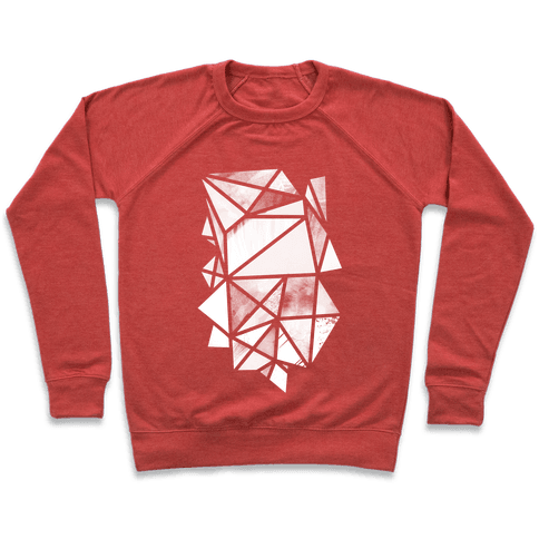 Geometric Collage Pullover