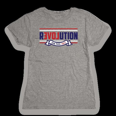 Libertarian American Revolution Womens T-Shirt