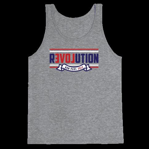 Libertarian American Revolution Tank Top