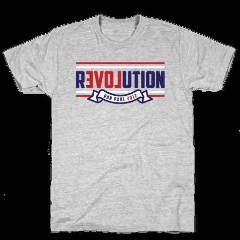 Libertarian American Revolution Mens T-Shirt