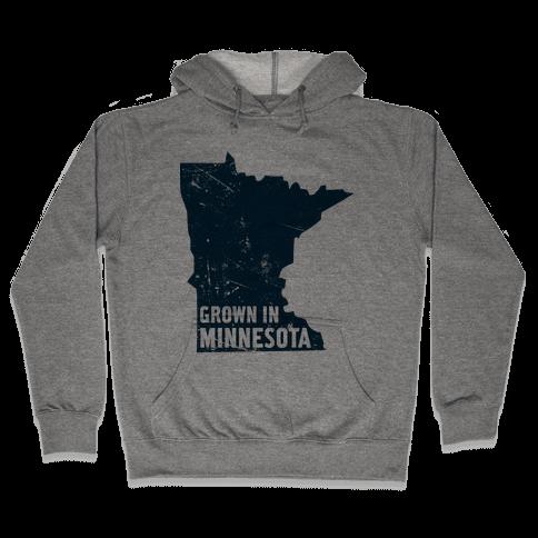 Grown in Minnesota Hooded Sweatshirt