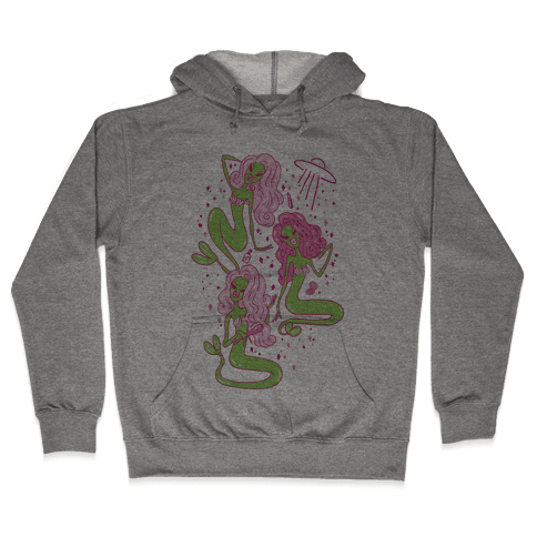 Mermaid Martians Hooded Sweatshirt