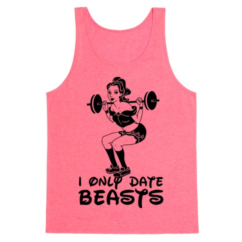 I Only Date Beasts (neon) Tank Top