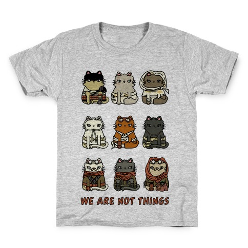 We Are Not Things Kids T-Shirt