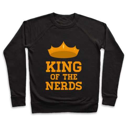 King of the Nerds Pullover