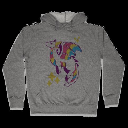 Pan Pride Dragon Hooded Sweatshirt