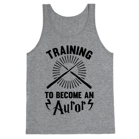 Training To Become An Auror Tank Top