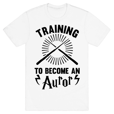 Training To Become An Auror Mens T-Shirt