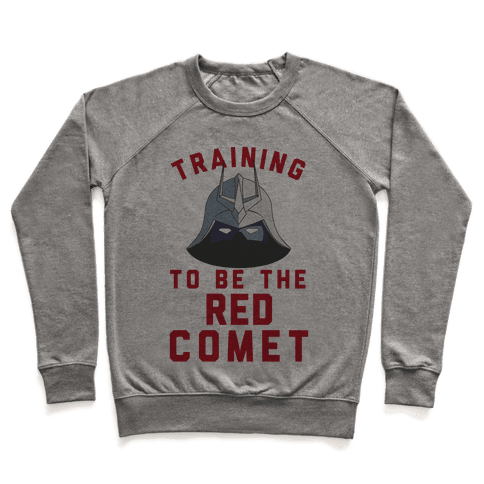 Training To Be The Red Comet Pullover