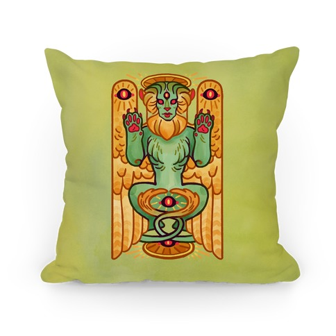 All-Seeing Sphinx Pillow