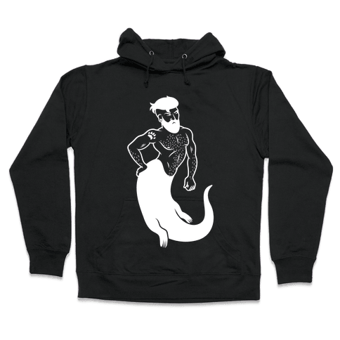 Otter Merman Hooded Sweatshirt