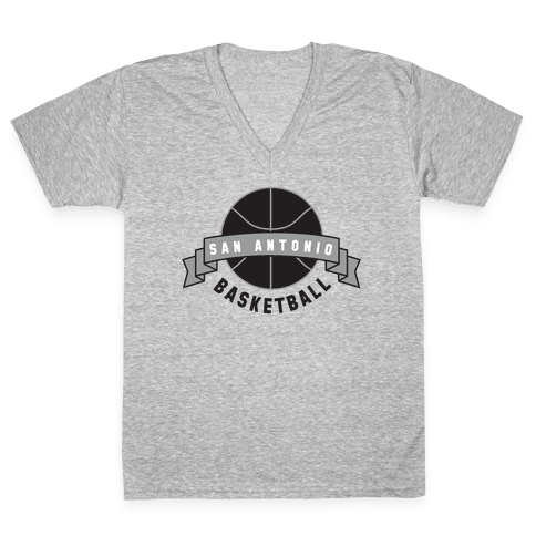 San Antonio  V-Neck Tee Shirt