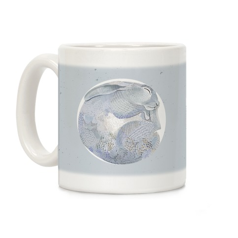 Moon Rabbit Coffee Mug
