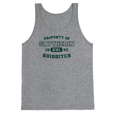 Slytherin Quidditch Athletics Tank Top