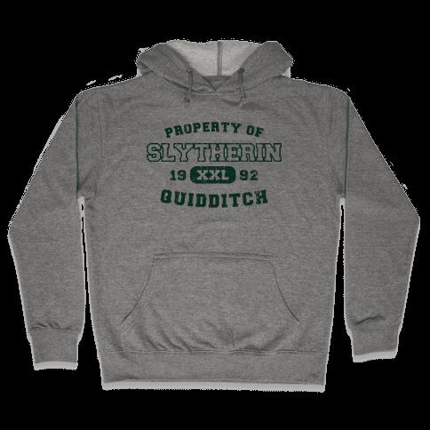 Slytherin Quidditch Athletics Hooded Sweatshirt