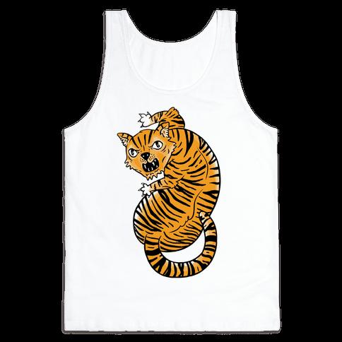 The Ferocious Tiger Tank Top