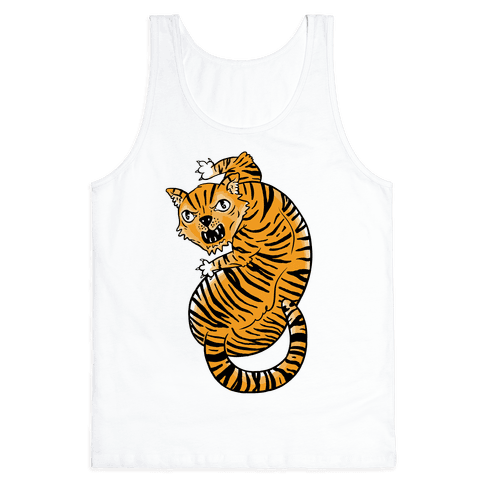 The Ferocious Tiger Tank Top