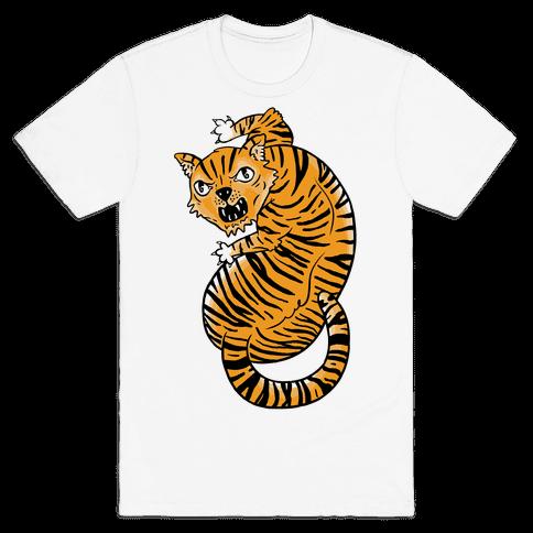The Ferocious Tiger Mens T-Shirt
