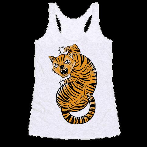 The Ferocious Tiger Racerback Tank Top