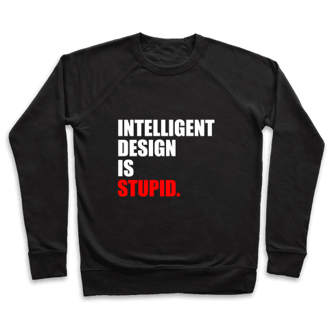 Intelligent Design Is Stupid Pullover