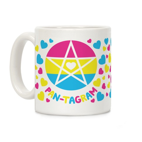 Pan-tagram (Pansexual Pentagram) Coffee Mug