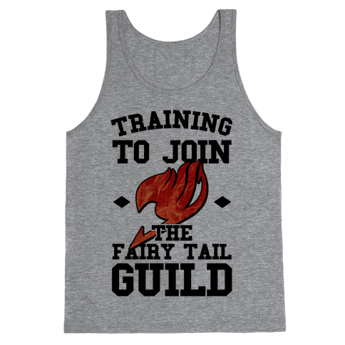 Training to Join the Fairy Tail Guild Tank Top