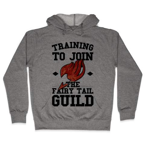 Training to Join the Fairy Tail Guild Hooded Sweatshirt