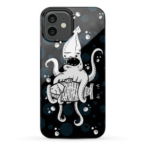 Squid Attack Phone Case