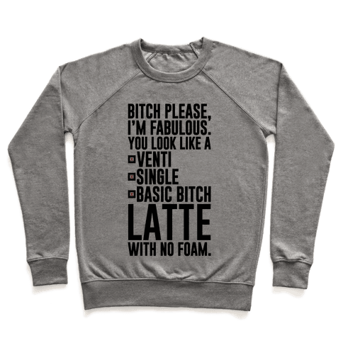 Basic Bitch Latte Pullover