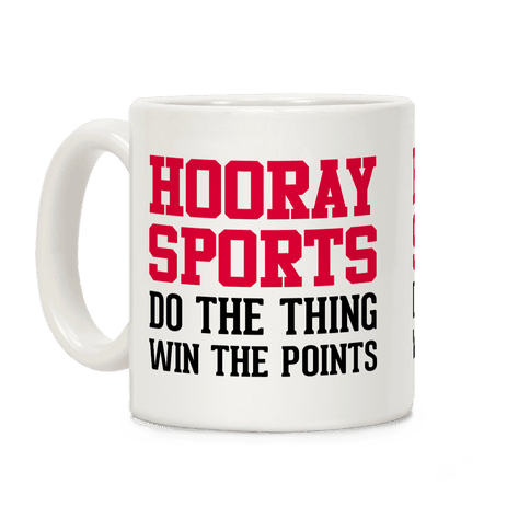 Hooray Sports Coffee Mug
