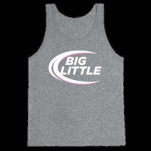 Big Little (Beer Parody Dark) Tank Top