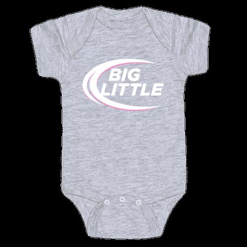 Big Little (Beer Parody Dark) Baby Onesy