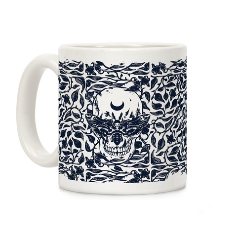 Skull Moth Coffee Mug