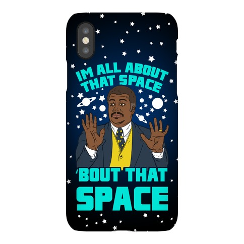 I'm All About That Space NDT Phone Case