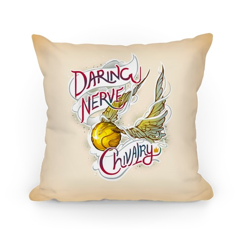 Golden Snitch Pillow Pillow