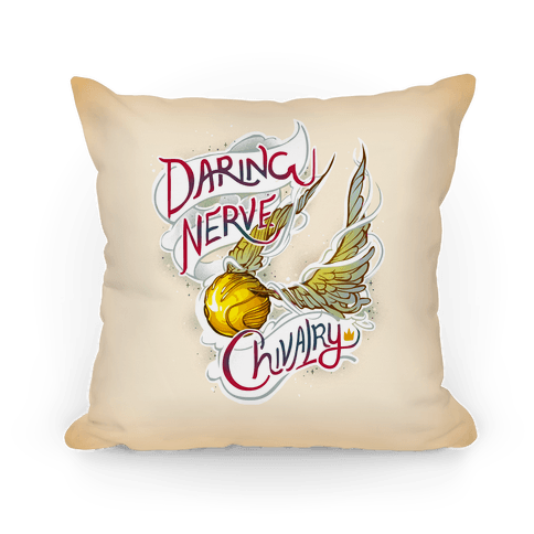 Golden Snitch Pillow