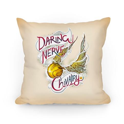 Golden Snitch Pillow