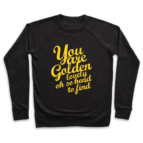 Golden, Lovely, Oh So Hard To Find (Tank) Pullover