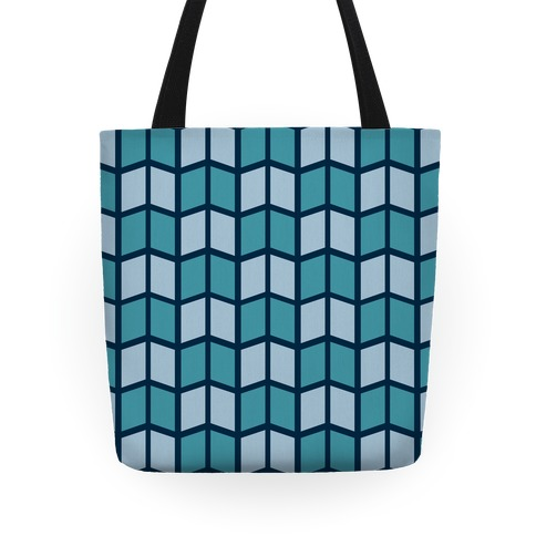 Parallelogram Pattern Tote Tote